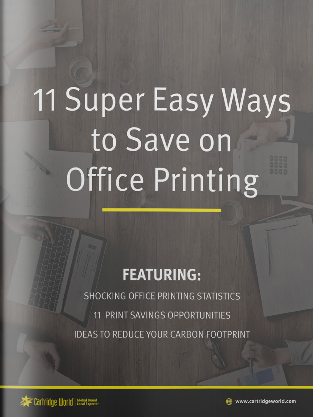 GUIDE TO SAVE ON OFFICE PRINTING