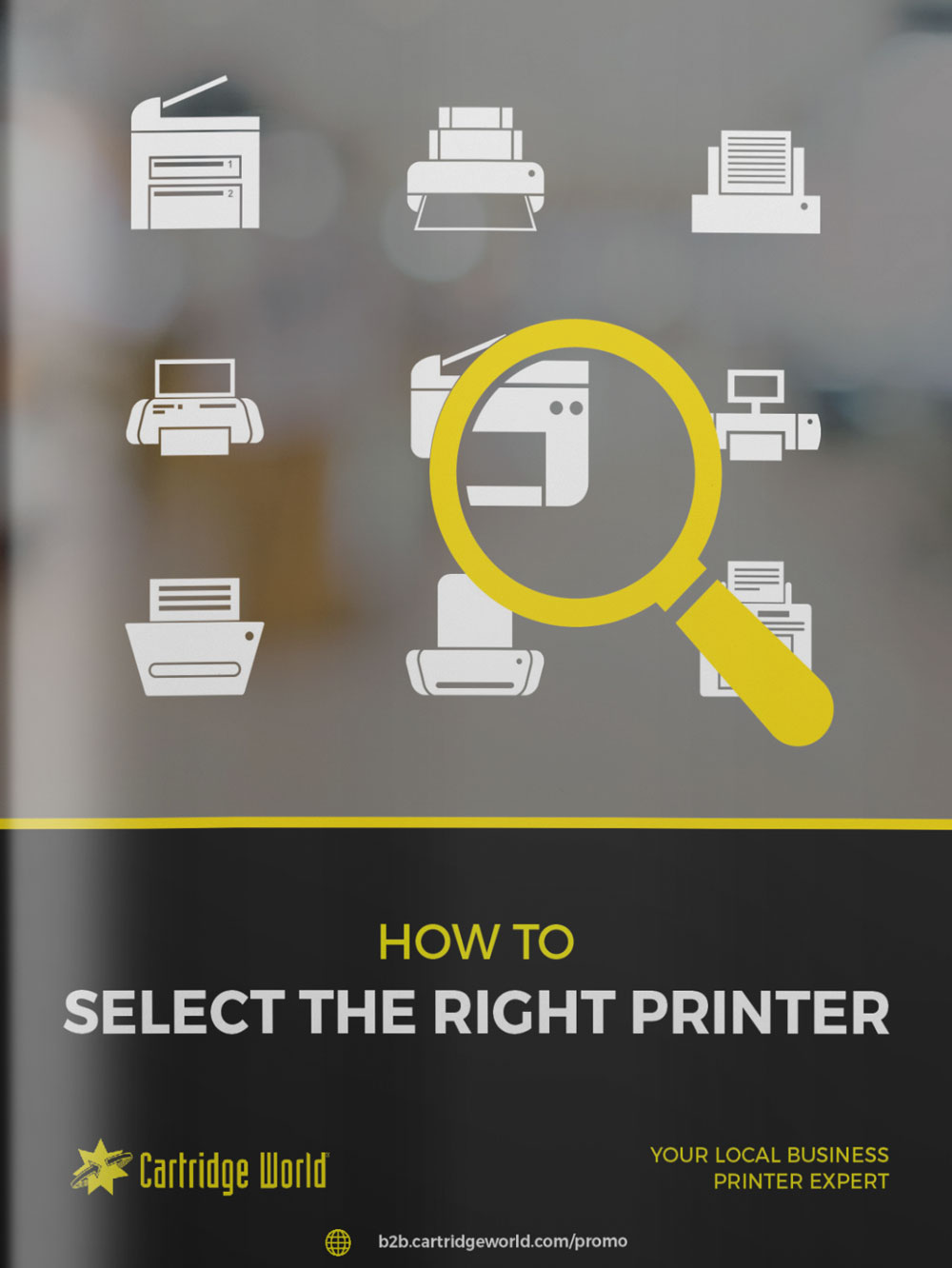 GUIDE TO SELECTING THE RIGHT PRINTER