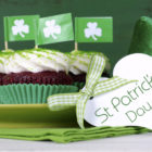 Irish cupcakes and hat