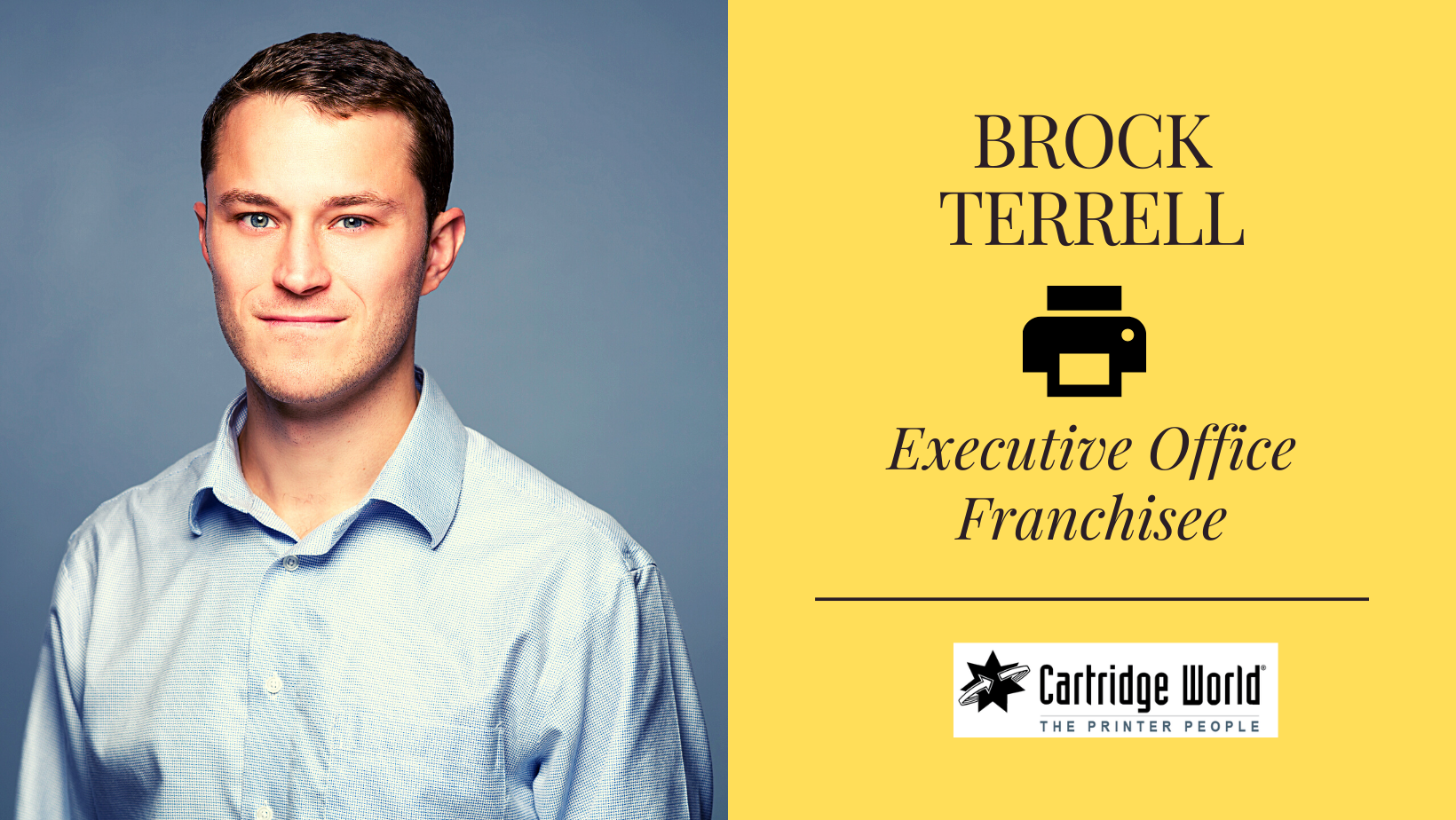 Meet Brock: New Franchise Owner & the Future of the Printing Industry